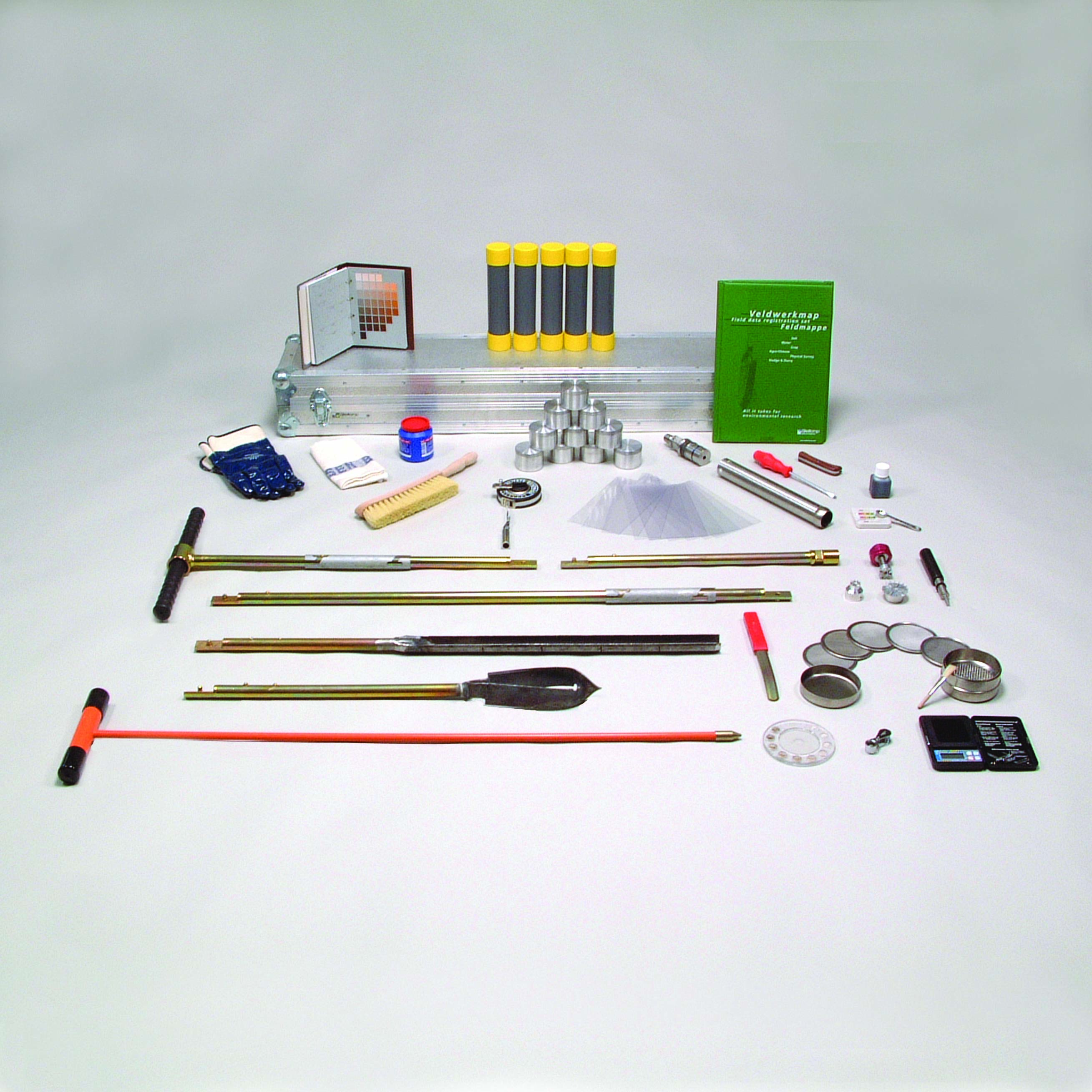 Soil sampling and classification set