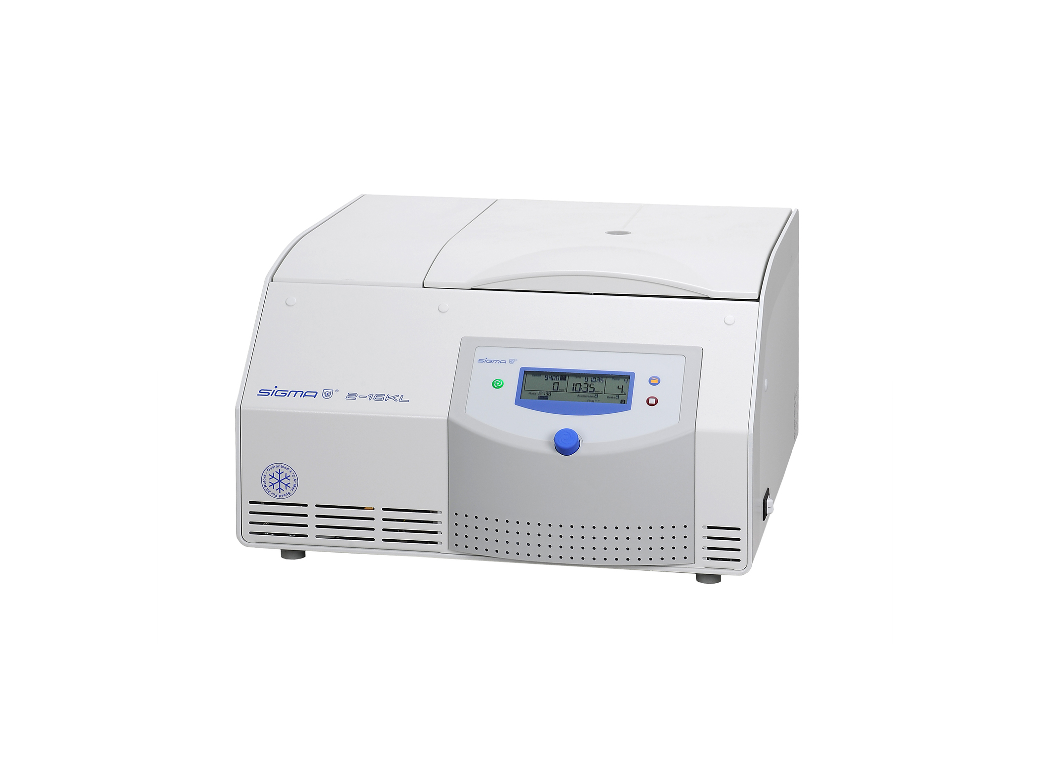 Sigma 2-16KL, refrigerated table top centrifuge, 220-240 V, 50/60 Hz""