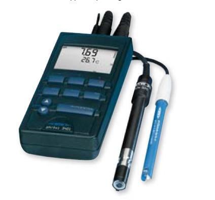 HANDHELD MULTI PARAMETER INSTRUMENT pH/Cond 340i SET