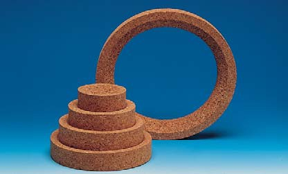 Cork ring O outer/inner 1000-2000 ML 140x90 mm