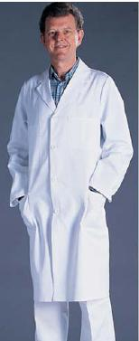 Laboratory coat for men, size 52