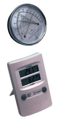 ELECTRONIC THERMO-HYGROMETER MIN-MAX